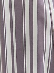 Slate Grey & White Stripe Challis Duster Shirt Kimono, STRIPES, alternate