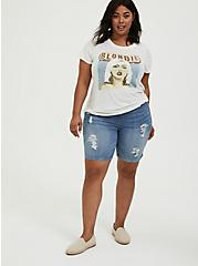 Blondie Ivory Crew Tee, , alternate