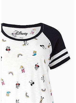 Disney Mickey Mouse & Friends Rainbow Football Sleep Tunic, MULTI, alternate