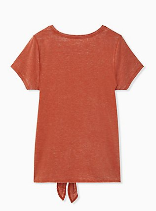 Disney Pixar Cars Radiator Springs Orange Terracotta Tie Front Top, POTTERS CLAY, alternate
