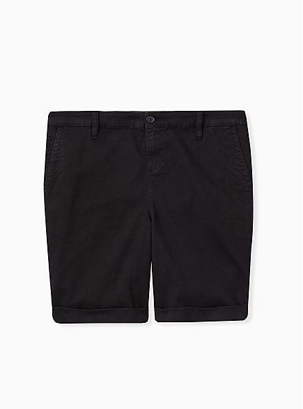 Bermuda Chino Short - Twill Black, DEEP BLACK, hi-res