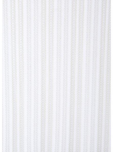Plus Size White Lurex Stripe Kaftan Swim Cover Up, BRIGHT WHITE, alternate