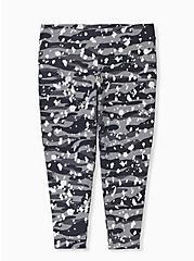 Crop Premium Legging - Splatter & Camo Grey, MULTI, alternate