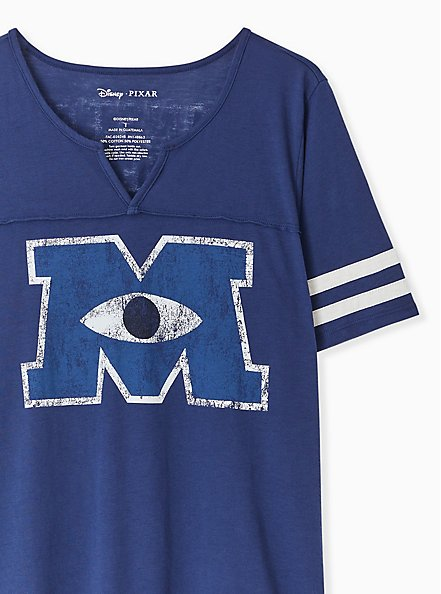 Disney Pixar Monsters University Football Top, MEDIEVAL BLUE, alternate