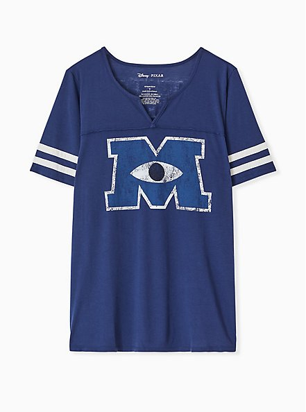 Disney Pixar Monsters University Football Top, MEDIEVAL BLUE, hi-res