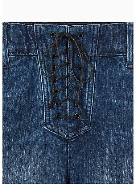 Bombshell Skinny Jean - Premium Stretch Medium Wash , THAMES, alternate
