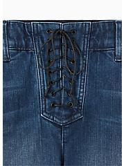 Plus Size Bombshell Skinny Jean - Premium Stretch Medium Wash , THAMES, alternate