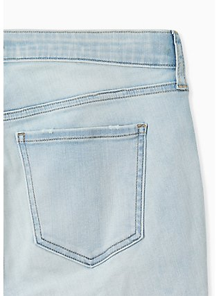 Sky High Skinny Jean - Super Soft Light Wash , MADE OF GLASS, alternate