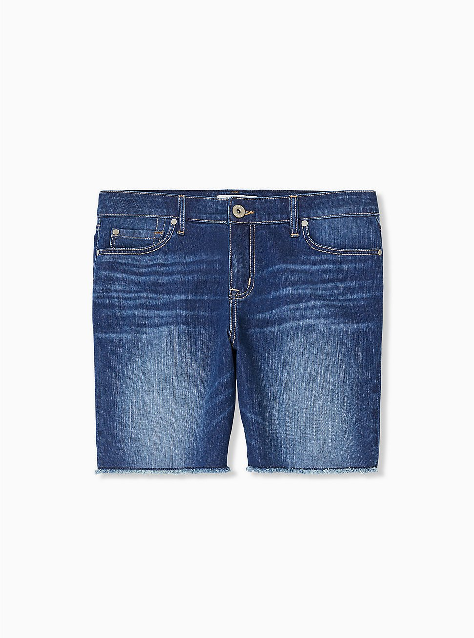 Bermuda Short - Vintage Stretch Medium Wash , PRIMO, hi-res