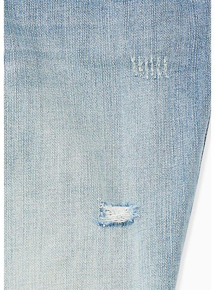 Low Rise Bermuda Short - Vintage Stretch Medium Wash, DREAMLOVER, alternate
