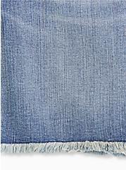 High Rise Bermuda Short - Vintage Stretch Medium Wash , DURANGO, alternate