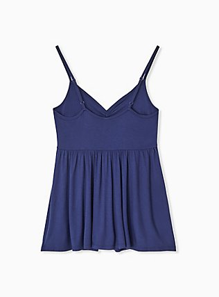 Navy Babydoll Sleep Cami, NAVY, alternate