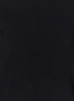 Black Linen Blazer, DEEP BLACK, alternate