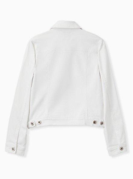 Denim Jacket - White, OPTIC WHITE, alternate