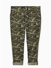 Crop Aviator Pant - Twill Camo, CAMO, alternate