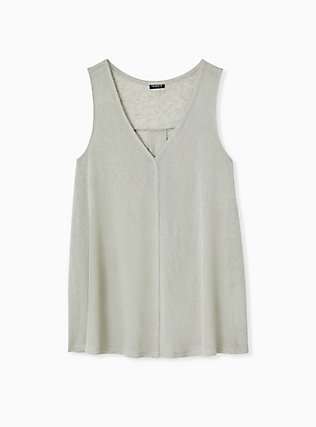 Jade Green Jersey Swing Tunic Tank, SEAGRASS, hi-res