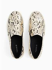 Snakeskin Print Faux Leather Slip-On Sneaker (WW), ANIMAL, alternate