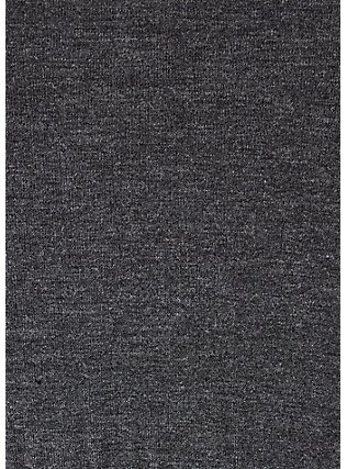 Super Soft Charcoal Grey Ruched Midi Bodycon Dress, HEATHER GREY, alternate