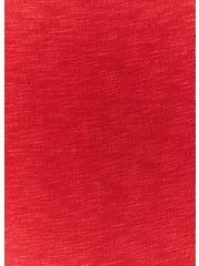 Red Slub Jersey Tiered Hem Mini Dress, AMERICAN BEAUTY, alternate