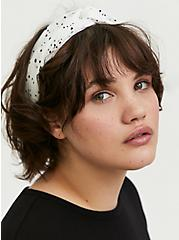 Black & White Twist Headband Pack - Pack of 2, , hi-res
