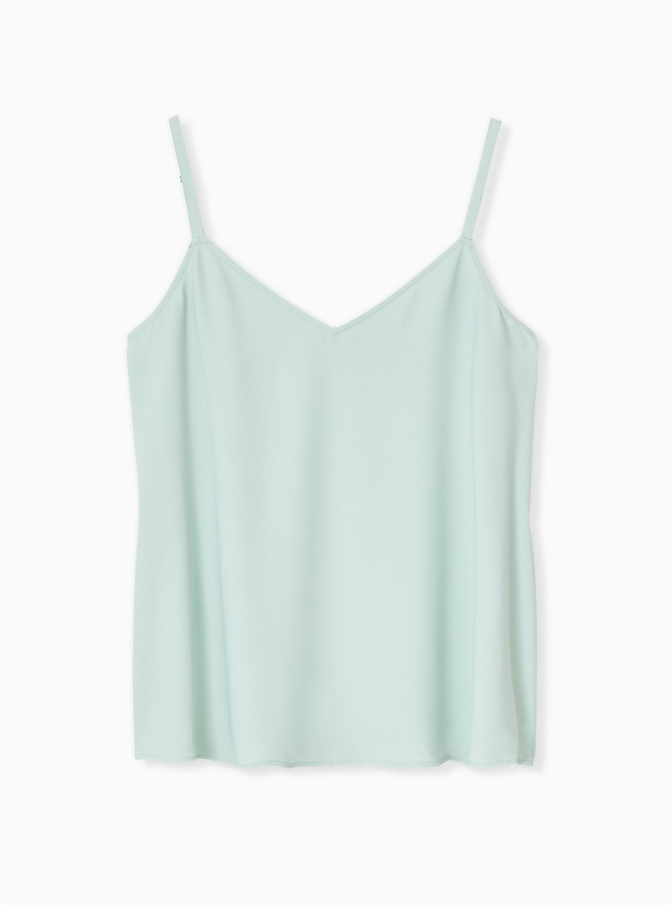 Sophie - Mint Blue Crepe Back Satin Swing Cami , HARBOR GREY, hi-res