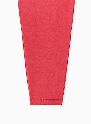 Crop Premium Legging - Red, RED, alternate
