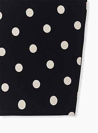Black & White Polka Dot Bike Short, MULTI, alternate