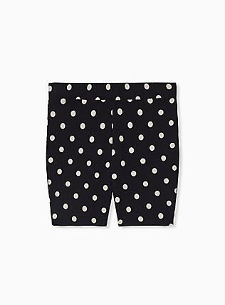 Black & White Polka Dot Bike Short, MULTI, hi-res