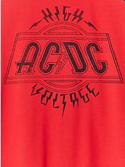 AC/DC High Voltage Red Raglan Tank, JESTER RED, alternate