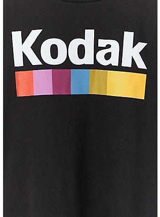 Kodak Instamatic Black Crop Crew Tee, DEEP BLACK, alternate