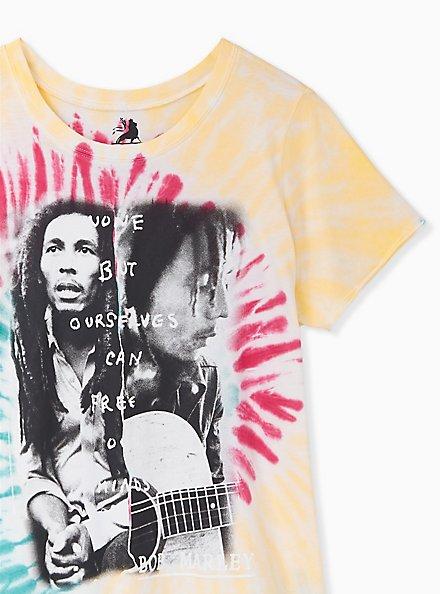 Bob Marley Crew Tee - Multi Tie-Dye, , alternate