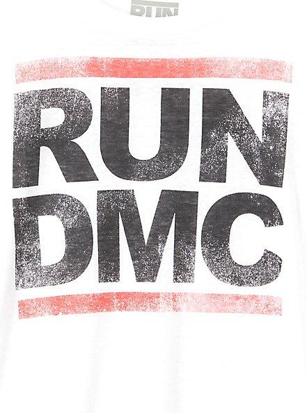 Run DMC Crew Tee - Burnout White, CLOUD DANCER, alternate