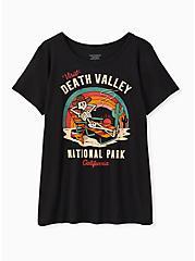 Death Valley Crew Tee - Black, DEEP BLACK, hi-res