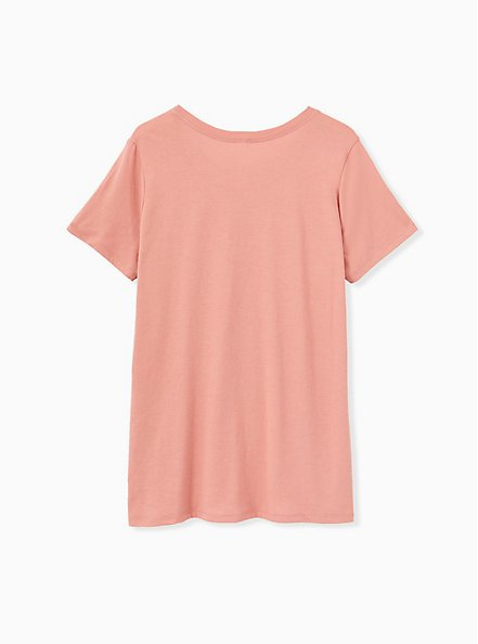 Yellowstone Crew Tee - Dusty Coral, , alternate