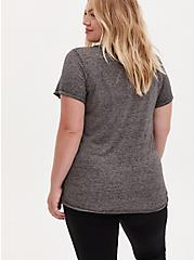 Stevie Nicks Crew Tee - Burnout Grey, MEDIUM HEATHER GREY, alternate