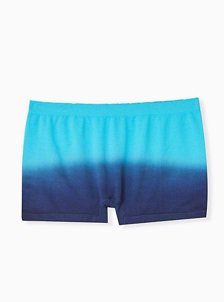 Friday Feels Navy Ombre Seamless Boyshort Panty , FRIDAY- NAVY, alternate
