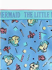 Disney The Little Mermaid Flounder & Sebastian Blue Cotton Hipster Panty, MULTI, alternate