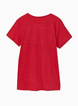 Coca-Cola Red Triblend Crew Tee, JESTER RED, alternate