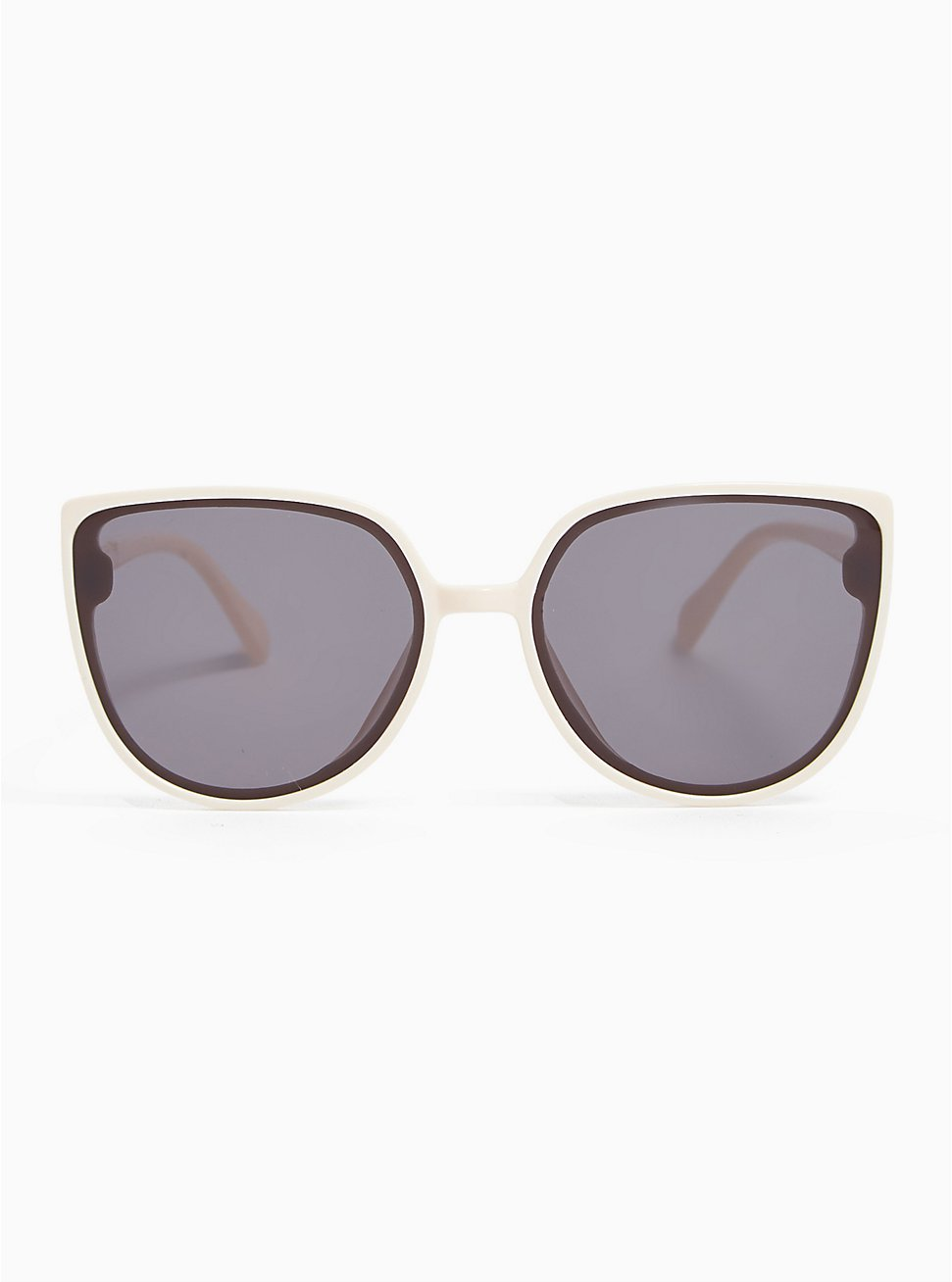 White Cat Eye Sunglasses, , hi-res