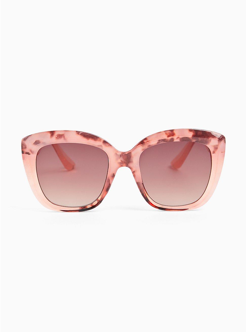 Pink Speckled Cat Eye Sunglasses, , hi-res