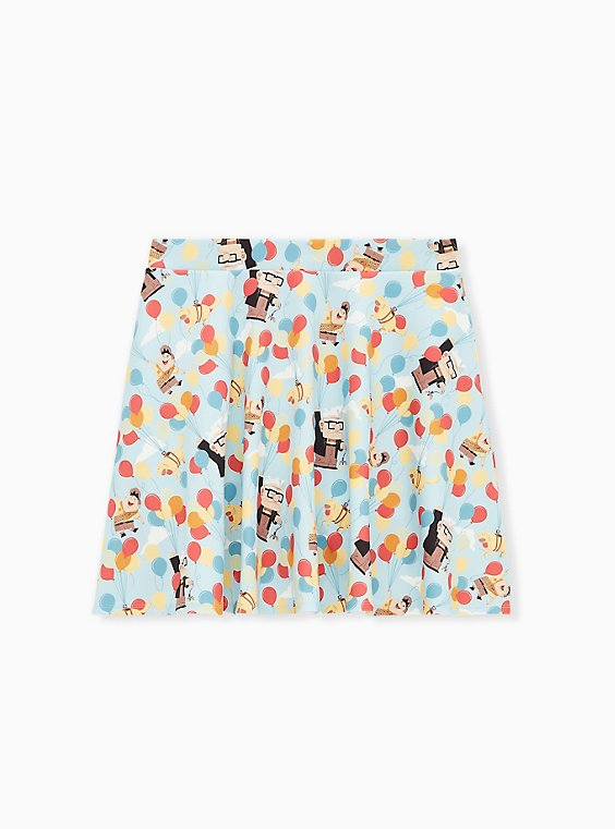 Disney Pixar Up Balloons Scuba Knit Skater Skirt , , hi-res