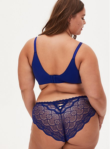 Sapphire Blue 360° Back Smoothing™ Push-Up Everyday Wire-Free Bra, DEEP WATERS BLUE, alternate