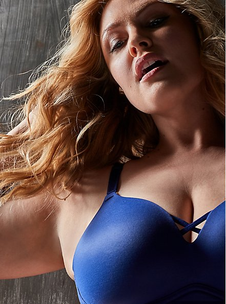 Sapphire Blue 360° Back Smoothing™ Push-Up Everyday Wire-Free Bra, DEEP WATERS BLUE, hi-res