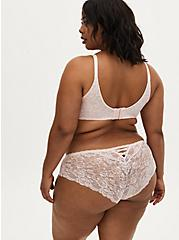 Breast Cancer Awareness - Light Pink Lace 360° Back Smoothing™ Lightly Lined Everyday Wire-Free Bra, , fitModel1-alternate