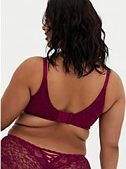 Berry Pink Lace 360° Back Smoothing™ Push-Up Wire-Free Bra, NAVARRA, alternate