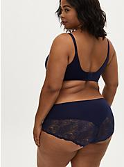 Navy Shine 360° Back Smoothing™ Lightly Lined Maximum Support Full Coverage Bra, PEACOAT, alternate
