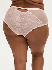 Lace Keyhole Back Cheeky Panty, LOTUS, hi-res