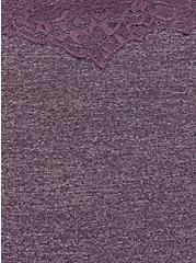 Heather Vintage Purple Microfiber Cheeky Panty , VINTAGE VIOLET, alternate