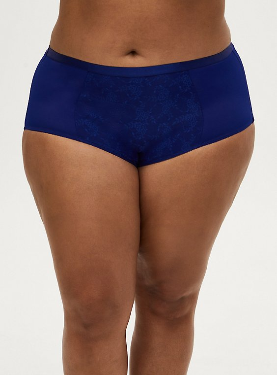 Sapphire Blue 360° Smoothing Brief Panty, DEEP WATERS BLUE, hi-res