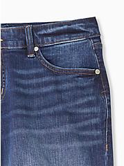 Mid Rise Bermuda Short - Vintage Stretch Medium Wash, KEEP IT 100, alternate